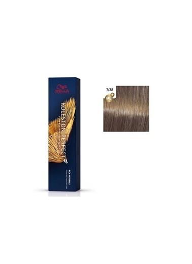 Wella Koleston Perfect Me+ Boya 60 Ml 7/38 Orta Kumral Altın İnci Renksiz